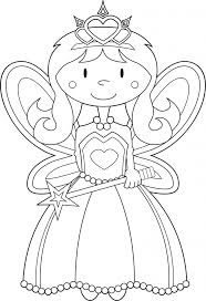Small Picture Printable 17 Fairy Princess Coloring Pages 4042 Fairy Princess