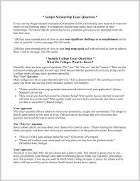 Tips For Sample College Scholarship Essays 348127 Resume Ideas