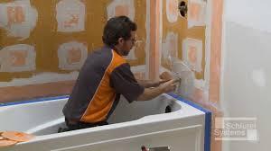 schluter kerdi board over framing in bathtub surround applications you