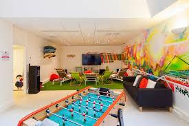 office game room. prestashop paris offices office game room