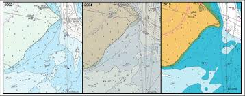 Sections Of Linz Hydrographic Chart Nz 5412 Port Of