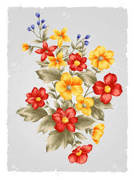 Flower Art Design Fabric Painting Flower Patterns Bunch Google Search
