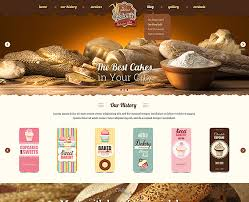 Cake Website Template By Price Low Gridgum