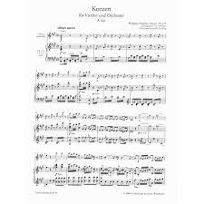mozart wa concerto no in a major k violin and piano mozart wa concerto no 5 in a major k 219 violin and piano edited by cliff eisen cadenzas by andrew manze breitkopf hatildecurrenrtel edition shar music