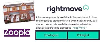 Listing Property For Rent Letting Agent Investigates Alleged Sex For Rent Listing On Both