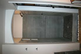 how to install cement board shower ceiling niche dad master bath