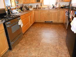 Wood Tile Floor Kitchen Kitchen Wood Tile Floor Ideas Dark Cabinets Color Schemes