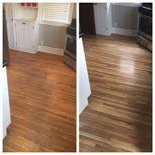 how to add shine to hardwood floors before and after floor refinishing looks amazing floor