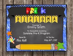 Prek Diploma 50 Of Sale Pre K Diploma Prek Graduation Chalkboard Etsy