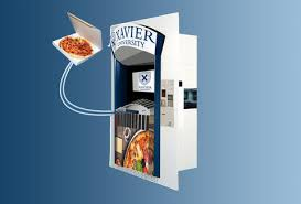 Pizza Vending Machine Xavier Adorable Pizza ATM At Xavier University Added To Dining Hall Thrillist
