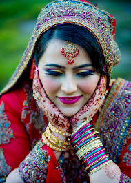 indian bride indian colors