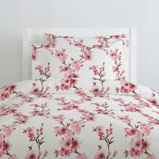 pink cherry blossom duvet cover awesome collection of cherry blossom duvet