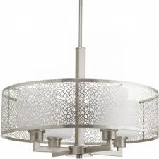 pendant lighting drum shade. drum pendant lighting shade lights bellacor throughout fetching brushed nickel chandelier