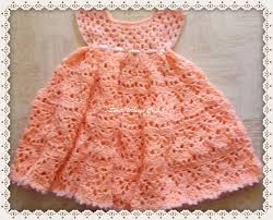 Free Baby Crochet Patterns Mesmerizing Lovely Shelled Girl's Dress Free Crochet Pattern ⋆ Free Baby Crochet