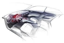 car interior sketch. Fine Car Audi Show Car Concept Sketch Interior Intended