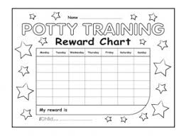 daily potty training chart potty training reward chart ichild