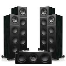 onkyo hts5805. kef q-700 front \u0026 back speaker with q-600c center onkyo hts5805