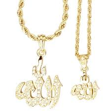 iced out bling mini pendant chain set 2 x gold pendants iced out biz