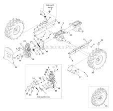 troy bilt tiller parts diagram smartdraw diagrams troy bilt 12193 econo horse 6 5hp opc parts diagram for wheel and