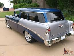CHEVY 2 DOOR WAGON, RESTO ROD, 502, AUTOMATIC, LOADED