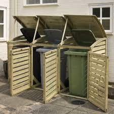 fullsize of exceptional outdoor garbage can storage shed triple wheelie bin storage google search outdoor garbage