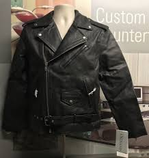 mens excelled 100 leather shell size 36 motorcycle jacket new with tags