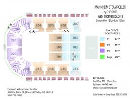 Seating Charts Prescott Valley Event Center