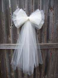 best 25 tulle wedding decorations ideas on pinterest tulle Wedding Decoration Ideas Using Tulle diy white tulle pew bow with bling can be used at the reception on some of the designated tables, ex add at each end of the gift table, wedding decoration ideas with tulle