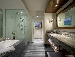 spa bathroom remodel photo - 3