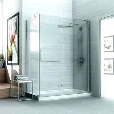 types of shower doors door glass medium size with stylish frameless