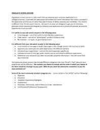 Curriculum Vitae Sample Graduate School Application Refrence Resume
