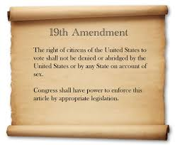 nineteenth amendment is not enough while you were sleeping garnett 1922 the supreme court rejected claims that the amendment was unconstitutionally adopted 19th amendment
