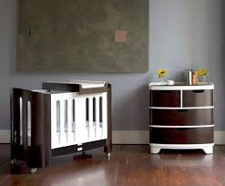 retro baby furniture. contemporary baby bloomu0027s luxo crib and dresser add european flair to the nursery inside retro baby furniture