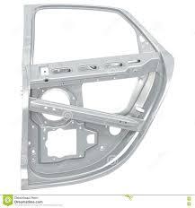 car door frame on white 3d ilration stock ilration ilration of panel