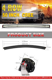 50 Inch Cree Curved Light Bar Auto Off Road Led Light Bar 888w Hanma 50 Inch Curved Led Light Bar Buy 50 Inch Curved Led Light Bar Curved Led Light Bar Led Light Bar Product On