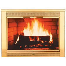 regal polished brass plated fireplace glass door size 04 6470 04