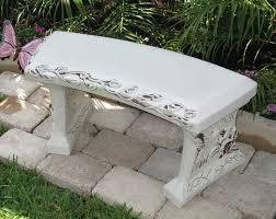 memorial benches concrete garden bench