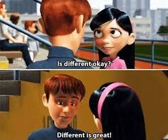 The Incredibles Quotes Magnificent Different Is Great The Incredibles Online Movie Quotes Truth