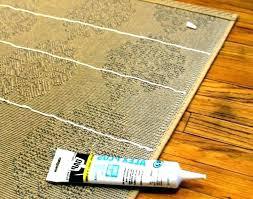 how to keep rug from sliding on hardwood floor rugs slipping do slip carpet latex