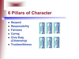 character education ethical choices ppt 10 6 pillars of character