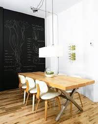 dining room chalkboard wall. distressed dining room with chalkboard wall