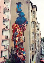 Польша уличные граффити