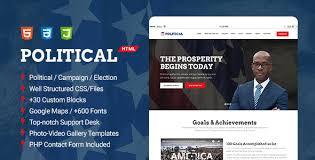 Political Multipurpose Campaign Election Html Template
