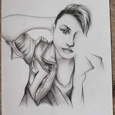 pencil on deleter ic book paper art drawing creative blackandwhite