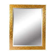 gold bamboo mirror. Mirror | Giltwood Retangular Gold Bamboo Design - Rectangular