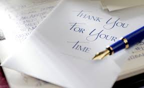 Thank You Letter Writing Guidelines