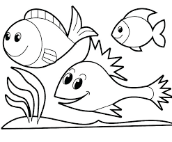 Coloring Pages For Childrens Invigorate Simple Preschoolers Page Kid