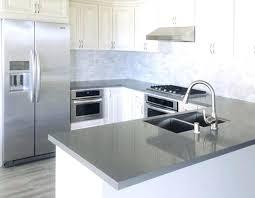 light gray quartz countertops grey gorgeous kitchen white cabinets with dark lighting s chanicsburg pa