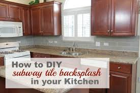 Small Picture 8 DIY Tile Kitchen Backsplashes That Are Worth Installing