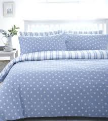 polka dot duvet cover blue double yellow uk full size